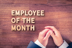 Employee of the month Royalty Free Stock Photography