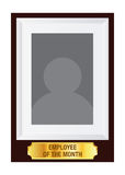 Employee Of The Month Photo Frame Template Royalty Free Stock Images