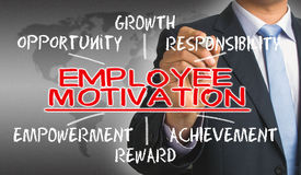 Employee motivation concept Stock Photo
