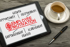 Employee motivation concept Royalty Free Stock Photo