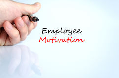Employee motivation text concept Royalty Free Stock Photography