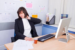 Employee of office Stock Image