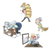 The employee Stock Images
