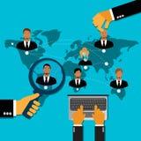 Employee, recruitment, human, resource, selection, interview, analysis Royalty Free Stock Photo
