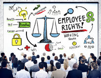 Employee Rights Employment Equality Job Business Seminar Concept vector illustration