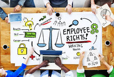 Employee Rights Employment Equality Job People Meeting Concept Royalty Free Stock Photos