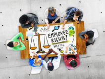 Employee Rights Working Benefits Skill Career Compensation Concept Royalty Free Stock Photo
