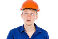 The employee tired Stock Photo