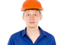 The employee tired Royalty Free Stock Photography