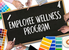 Employee Wellness program and Managing Employee Health , employe. E wellness concept Stock Images