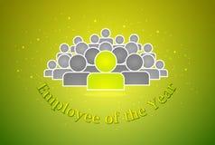 Employee of the year award Royalty Free Stock Photo
