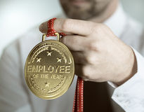 Employee of the Year Recognition Royalty Free Stock Photo