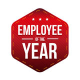 Employee of the Year vector badge Royalty Free Stock Photography