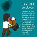 Employees Being fired by the employer. Royalty Free Stock Photo