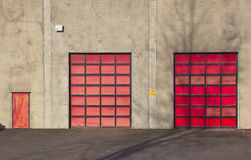For employees entrance only Portland Oregon. Stock Image