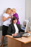 Employees of office Stock Photography