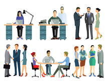 Employees in office Royalty Free Stock Image