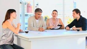Employees planning something Stock Photo