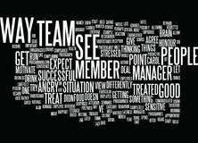 Employees Treat Them The Way They Expect To Be Treated Word Cloud Concept. Employees Treat Them The Way They Expect To Be Treated Text Background Word Cloud Royalty Free Stock Image