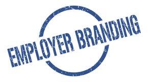 Employer branding stamp. Employer branding round grunge stamp. employer branding sign. employer branding stock illustration