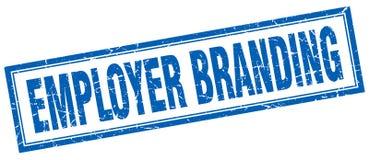 Employer branding square stamp Stock Image