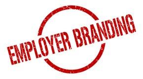 Employer branding stamp. Employer branding round grunge stamp. employer branding sign. employer branding vector illustration