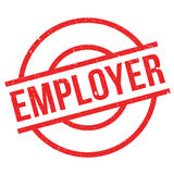 Employer rubber stamp Royalty Free Stock Image