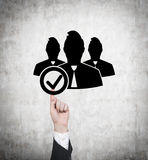 Employer symbol Royalty Free Stock Photography
