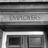 Employers Entrance Stock Photography
