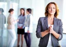 Employeur élégant Image libre de droits