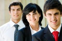 Employeur féminin Photos stock