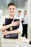 Employeur heureux Image stock