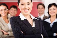 Employeur heureux Photographie stock
