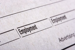 Employment Royalty Free Stock Photos