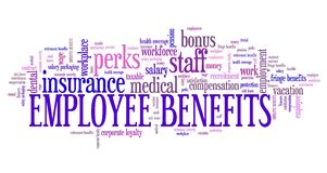 Employment benefits Stock Photography