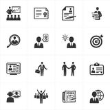 Employment and Business Icons Stock Photo