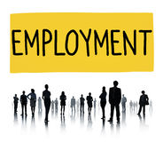 Employment Employed Career Job Hiring Concept Royalty Free Stock Photo