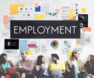 Employment Human Resources Hiring Concept Stock Photos