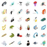 Employment icons set, isometric style. Employment icons set. Isometric style of 36 employment vector icons for web isolated on white background vector illustration