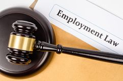 Employment law concept. Royalty Free Stock Photography