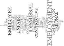 Employment Law Text Background  Word Cloud Concept Royalty Free Stock Image