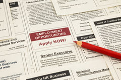 Employment opportunities Royalty Free Stock Photos