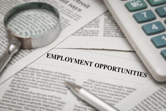 Employment opportunities concept Royalty Free Stock Images
