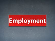 Employment Red Banner Abstract Background. Employment Isolated on Red Banner Abstract Background illustration Design royalty free illustration