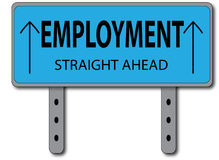 Employment Sign Concept Royalty Free Stock Photography
