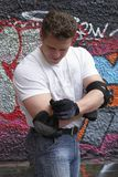 employments sprawności fizycznej mężczyzna przygotowanie Fotografia Stock
