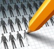 Employés de location Images stock