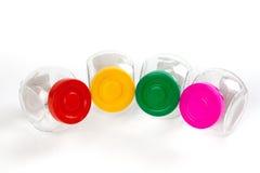 Emplty plastic jars Stock Photo