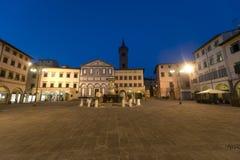Empoli (Florença), quadrado principal Fotos de Stock Royalty Free
