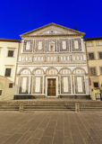 Empoli (Florence), church by night Stock Photography